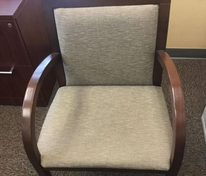 Chair Effected with Urine After