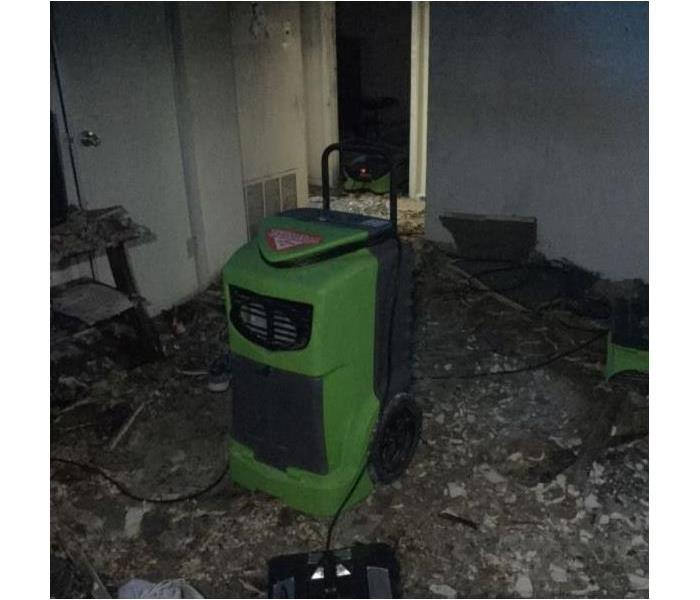 Commercial Fire Damage Before