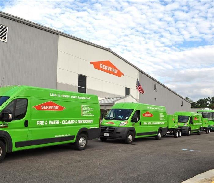 Why SERVPRO Why choose SERVPRO® of Tri-Cities, Plus