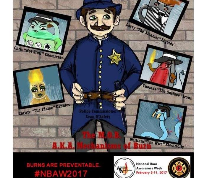 Community Burn Awareness Week February 5th- 10th 2017